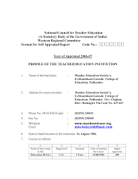 Fair Primary School Teacher Resume format On Sample Cv for Job In India  Image Gallery Hcpr