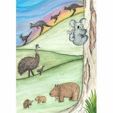 Puggle Growth Chart Australian Animal Growth Chart Decal