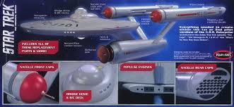 star trek enterprise ncc 1701 1 350 scale pilot parts pack model kit