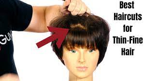 haircuts for thin hair thesalonguy