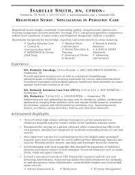 Registered Nurse Sample Resume – Hflser