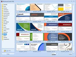 Designing Card Cards For Mx Business Software Businesscards
