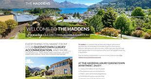 apartment website design. Luxury Website Design Queenstown Apartment