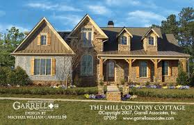 hill country house plans. Hill Country Cottage House Plan 07095, Front Elevation Plans H