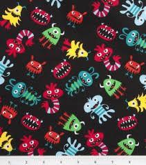 13 best Joann's novelty fabric images on Pinterest | Novelty ... & Monster Fabric (Joann: Little Monster's Tossed) Adamdwight.com
