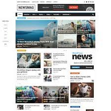 Wordpress Template Newspaper 66 Best Seo Optimized Wordpress Themes For 2019