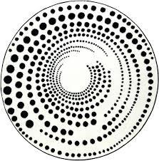black and white round rug esprit eddy black white round rug black white striped rug nz