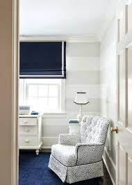navy rug nursery nursery with white and gray stripe walls