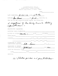 Copy Of A Doctors Note City Of Dallas Archives Jfk Collection Box 1