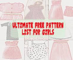 Baby Clothes Patterns Free