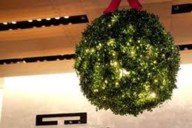 Mistletoe Ball Lights Tourneaus Giant Ball Of Mistletoe Lanvin Petite Now In