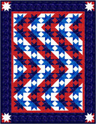 QDNW Stars & Stripes forever quilt pattern &  Adamdwight.com