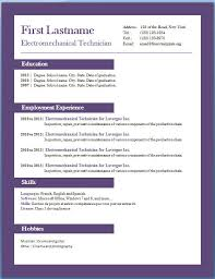 Resume Templates Download Free Interesting Resume Template Download Free Professional Resume Templates