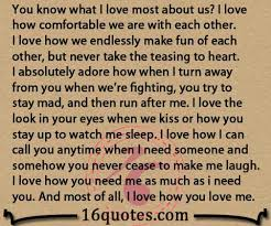 I Love Us Quotes Enchanting You Know What I Love Most About Us