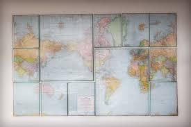 diy wall decor. Wall Art. Canvas Maps By Little Birdie Secrets Diy Decor