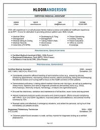 Example Of Medical Assistant Resume Functional Resume Template Medical Assistant Entry Level