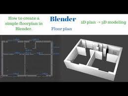 blender a simple floor plan tutorial