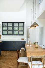 the perfect blend of old and new we still can t get enough of this pletely gorgeous pantry blue kitchen