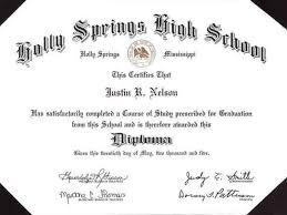 Free Homeschool Diploma Template Best Photos Of Adult High School Diploma Template Free
