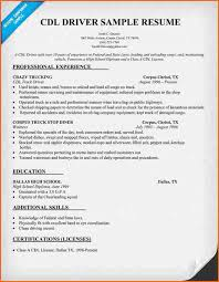 truck driver resume skills tow ...