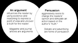 persuasive unit i love lit argument vs persuasion