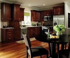 dark wood kitchen cabinets. Brilliant Dark Dark Wood Kitchen Cabinets By Aristokraft Cabinetry  And Wood Kitchen Cabinets