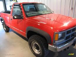 1997 Victory Red Chevrolet C/K 2500 K2500 Cheyenne Regular Cab 4x4 ...