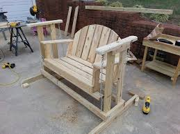 Small Picture How to make a porch swing glider frame I used my great