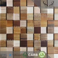 3d stacked wood wall panels