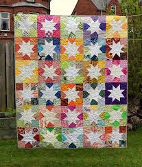 Siblings Together Wonky Star Quilt - Just Jude Designs - Quilting ... & STB2 Wonky Star Quilt Adamdwight.com