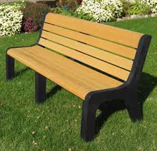 Malibu Park Bench | Recycled Plastic | Park Benches | Belson Outdoors