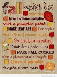 Fall Quotes Fascinating Bucket List Of Fall Quotes And Sayings