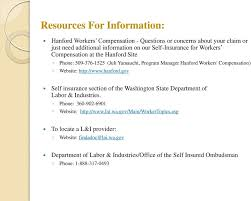 hanford gov self insurance section of the washington state
