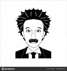 有名な科学者の肖像 ストックベクター Greenvector 182040480