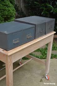 vintage metal furniture. Vintage Metal Cabinets Can Be Affordable At The Thrift Store. The One On  Left Vintage Furniture