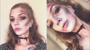 dead zombie easy makeup tutorial