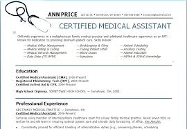 Medical Office Resume Awesome Collection Of Medical Assistant Resume