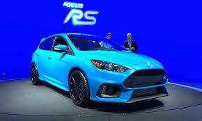 New Ford Focus RS - 2015 NYIAS - Fast Lane Daily - YouTube