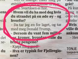 kim rathcke jensen on from a norwegian paper if you kim rathcke jensen on from a norwegian paper if you were stranded on an island who would you bring along i ll take one for the team and