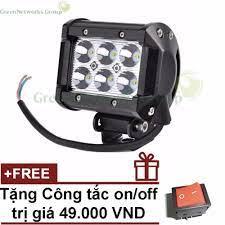 Đèn LED trợ sáng cho xe máy đi phượt C6 GreenNetworksGroup