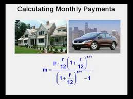 Calculate Loan Payment Formula Calculating Monthly Payments