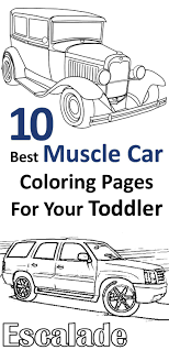 Top 25 Free Printable Muscle Car