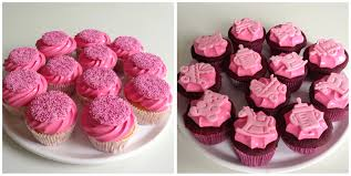 Its A Girl Baby Shower Cupcakes Thirstforfood