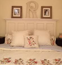 king size 5 panel vine door headboard antique white bedroom