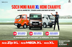 tata motors enhances business opportunities for its customers with new xl range of small mercial cargo vehicles in india tata motors limited