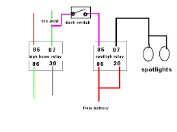 spot lamp wiring diagram spot image wiring diagram wiring diagram for spotlights to high beam wiring auto wiring on spot lamp wiring diagram