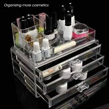 acrylic cosmetic makeup organizer display bo holder jewelry storage conner kim kardashian makeup organizer australia with kim kardashian makeup