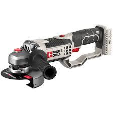 cordless grinder. porter-cable 4.5-in 20-volt-volt cordless angle grinder (bare e