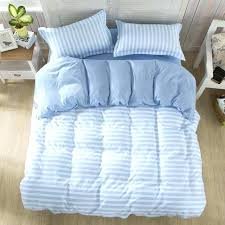 blue and white striped bedding blue striped quilt bedding set brief style stripe duvet cover blue and white striped bedding