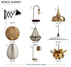 West And Arrow Pineapple Light My Favorite 37 Online Lighting Resources Emily Henderson